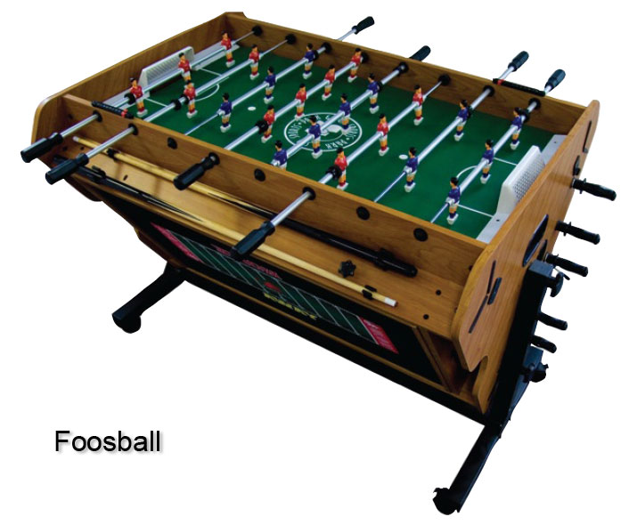 Superbe Rotational 4 In 1 Game Table