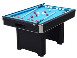 Hartford Black Bumper Pool Table