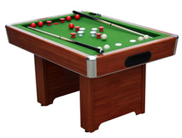 Hartford Cherry Bumper Pool Table
