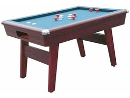 Wood Bed Bumper Pool Table